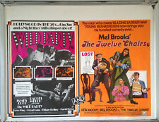 Cinema Poster: WILD PARTY / TWELVE CHAIRS, THE 1975  Mel Brooks Raquel Welch