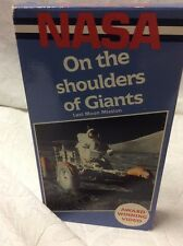 NASA On The Shoulders Of Giants, VHS.  Last Moon Mission Award Winning Video