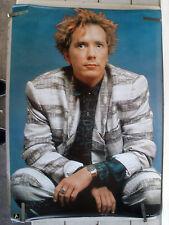 Rare Johnny Rotten Lyndon Sex Pistols 1986 Vintage Original Music Poster