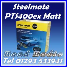Steelmate PTS400ex Matt Black 4 Eye Parking Sensors