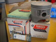 NOS Yamaha OEM .75 Piston Kit 1975 MX400 2K8-11630-30