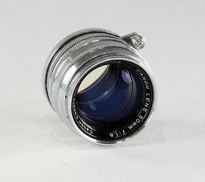 Canon Rangefinder Lens 1.8/50 mm, #91488