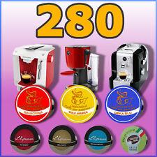 280 capsule cialde compatibili A MODO MIO Caffè, Deka, Thè, orzo, cioccolata ecc