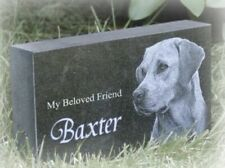 "Memorial Headstone, pet / human 4"" x 7"" x 2"" (Granite)"