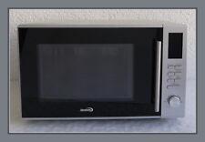 Kombi Mikrowelle mit Grill und Heißluft, Edelstahl, 30l, 230