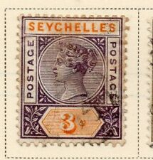 Seychelles 1893 Early Issue Fine Used 3c. 326862