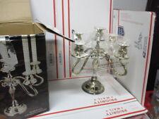 Vintage Godinger Silver Plated 5 Light Candelabra Table Top Candle Holder