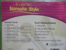 He's Alive~#1~Christian~Daywind~Karaoke Style ~ I Will Glory in the Cross ~ CD+G