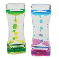 (Set of 2) Color Mix Liquid Motion Timer Sensory Fidget Autism Stress Relief