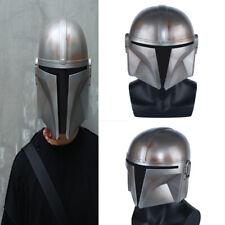 Hot Star Wars Boba Fett Mandalorian Cosplay Costume Cos Prop Halloween Helmet