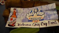 1999 Cfl Grey Cup Large Beer Sign Calgary Hamilton Bc Place