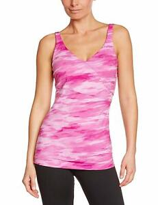 Under Armour Womens UA Perfect Wrapped Athletic Tank Top Magenta Shock X-Small