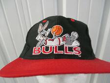 VINTAGE NBA LOGO 7 LOONEY TUNES CHICAGO BULLS BUGS BUNNY SNAPBACK CAP HAT 90s