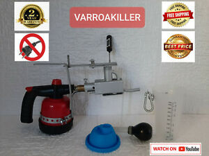 VARROAKILLER - Oxalic Acid Vaporizer temperature control  Varroa Mites Treatment