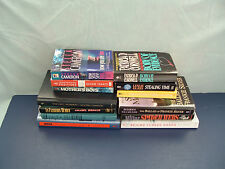 murder mystery suspense 13 mixed book lot behind closed doors, stealing time