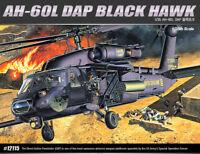 1/35 AH-60L DAP BLACK HAWKS #12115 ACADEMY HOBBY MODEL KITS
