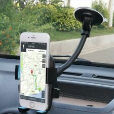Car Smart Phone Holder Long Arm Windshield Mount Bracket Stand w/ Suction Cup
