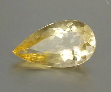 TOP BIG HELIODOR : 12,36 Ct Natürlicher Heliodor ( Gold Beryll ) aus Brasilien