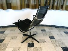 Charles & Ray EAMES Alu Lounge Chair EA 116 HERMAN MILLER Vinyl Sessel 1960s