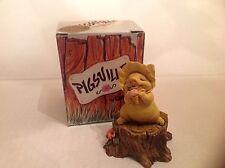 Ganz Pigsville Figurine Me and My Ice Cream NIB