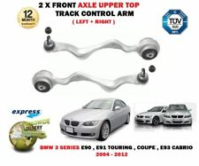 Per BMW 3 Series 2004 - > 2X ANTERIORE SUPERIORE SINISTRA + DESTRA Braccio Controllo Pista Sospensione