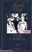 Tutte e Nessuna (1924) VHS Eagle Prestige Video  Harold Lloyd - B/N - CULT