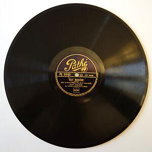 Disque 78 tours - Suzy Solidor - LILY MARLÈNE - PATHÉ