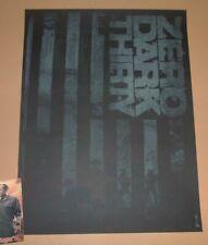 Zero Dark Thirty Godmachine Movie Poster Print Glow in the Dark Art 2013