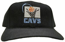 Cleveland Cavaliers Old School Logo Embroidered Hat, Black - Collector's Item