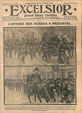 Soldiers Imperial Russian Army Przemysl Voivodeship Austrian Prisoners WWI 1915