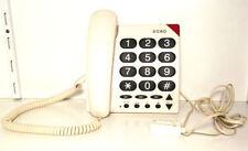 Téléphones fixes et accessoires blancs Doro