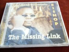 Father MC Presents Bishop The MISSING LINK VERY RARE HIP HOP SEALED CD ORIG MIL