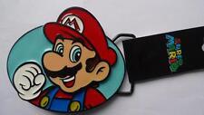 Die Cast Super Mario Belt Buckle