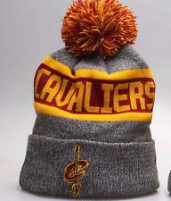 Cleveland Cavaliers Fan NBA Winter Acrylic Pom Cuff Beanie