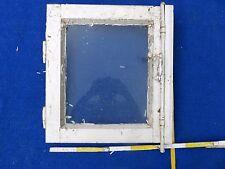 Altes Fenster Eiche antik Jugendstil ca50x45 Deko original Beschläge Holzfenster