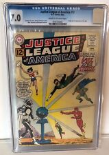 JUSTICE LEAGUE OF AMERICA #12 - CGC 7.0 - 1ST DR LIGHT