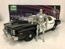 GREENLIGHT 1:18 AUTO DODGE MONACO POLICE THE TERMINATOR CON FIGURA     ART 19042