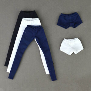 High Quality Elastic Fashion Trousers Long Pants Outfit for Barbie Doll 1/6 Toys