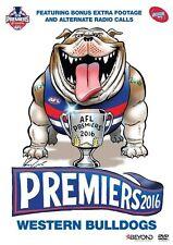 AFL 2016 PREMIERS - WESTERN BULLDOGS Region 4 DVD BRAND NEW!
