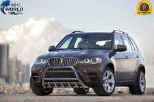 FITS BMW X5 BULL BAR CHROME AXLE NUDGE PUSH A-BAR 2006-2013 E70 SUPER OFFER