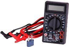 Digital Multimeter Messwerkzeug LCD Voltmeter Amperemeter Messleitung Prüfen Set