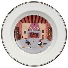 Villeroy & and Boch DESIGN NAIF Fireside NEW NWL 21cm rimmed soup / dessert bowl