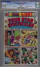 Four Star Spectacular #1 CGC 9.0 VF/NM WP DC Comics 1976 Giant Flash Superboy +