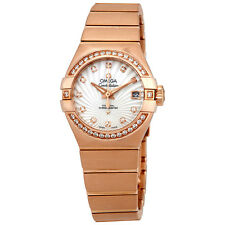 Omega Constellation Mother of Pearl Dial Ladies Watch 123.55.27.20.55.001