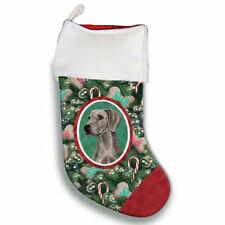Weimaraner Christmas Stocking