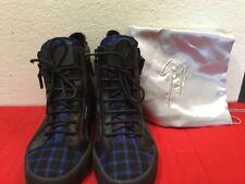 Black Giuseppe Zanotti Men Boots - Black and Navy Blue Size  8.5 US 41 Italy
