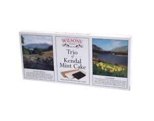 Kendal Mint Cake Wilson's Kendal Mintcake Trio Selection  Box  200g