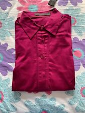 The Limited Cotton Full Sleeves Dress Shirt - Magenta - New with tag - 50% off