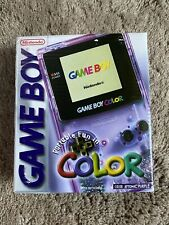 Nintendo GameBoy Color System - Atomic Purple - Complete in Box - 100% Authentic
