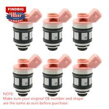 6x Fuel Injector For Nissan D21 Pathfinder Quest Mercury 3.0L 16600-88G10 JS20-1